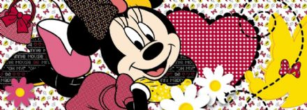 Minnie Mouse Disney wall murals